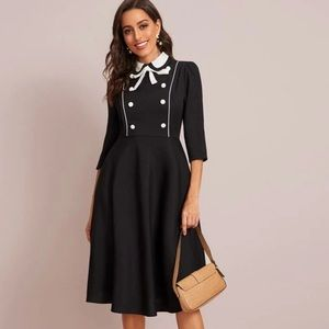 Bow Tied Vintage Dress